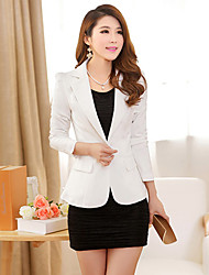 Women's Spring Elegant Single Button Blazer