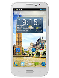 "Q60 6.0 "" Android 4.2 Smartphone 3G (Due SIM Quad Core 8 MP 1GB + 4 GB Bianco)"