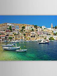 Stampa su tela artistica Paesaggio Grecia Scenery