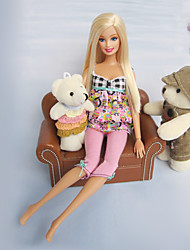 Barbie Doll Spring Sweet Casual Suit