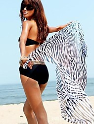 Women's Sexy Wild Zebra Beach Towel Yarn Batches