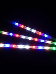 12 30 см Красочный Строб Мотоспорт Декоративные светодиодные Бар (Опционные цветы)