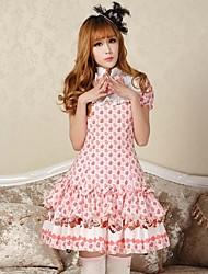 Belle princesse bonbons oeufs de Pâques robe lolita chic Belle