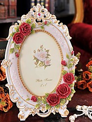 """7""""Modern European Style Pearl Metal Picture Frame"""