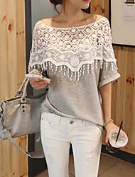 Women's T-Shirts , Cotton/Cotton Blend Yours