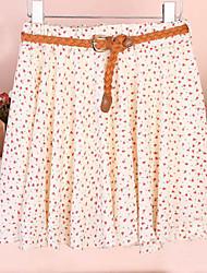 Mujeres Rose falda de moda