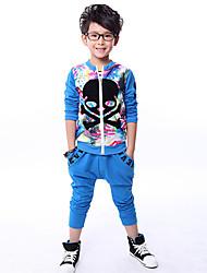 Boy's Cotton Clothing Set,Winter / All Seasons Print