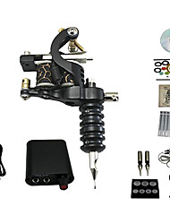 1 Gun Complete Tattoo Kit with Free Gift of 20 Tattoo Inks