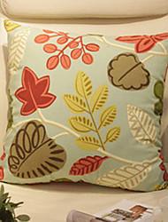 Coussin décoratif gracieux Motif Fleurs avec insert