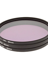 CPL + UV + FLD Filter Set for Camera with Filter Bag (82mm)