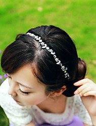 Canlyn Women's Elegant Diamond And Crystal Headbands