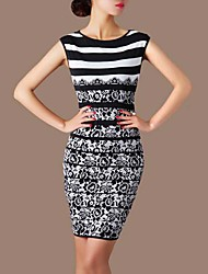 Women's Dresses , Polyester/Spandex Casual LIFVER