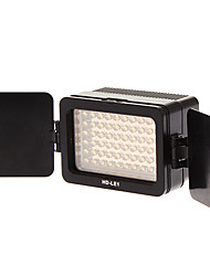 HD-LE1 Universal Battery LED Video Light for Cameras (Black)