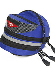 FJQXZ 600D Quick-release and Extensible Blue Bicycle Rear Bag