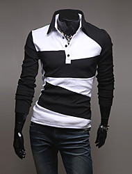 Men's Spring Casual Stylish Slim Fit Polo T-Shirt