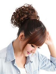 Light Brown Synthetic Bracelet Holder Wavy Ponytail