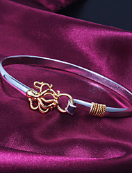 High Quality Original Silver Silver-Plated With Gold-Plated Octopus Locked Bangle Bracelets