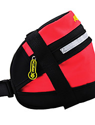 CoolChange 600D Polyester Red Extensible Saddle Bag