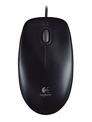 USB Logitech M100R-Wired Optical Mouse + Mousepad
