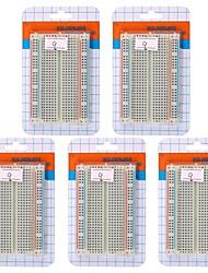 Hoge kwaliteit Solderless Broodplank met 400 Tie-Points - Wit (5 PCS)