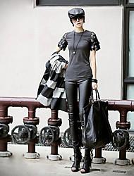 Women's Black Skinny Pants , Casual