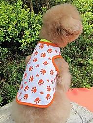 Pieds belle petite Pet Vest pour Chiens Chats Animal Domestique