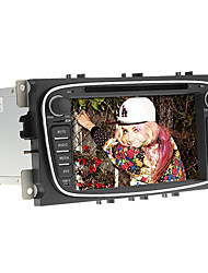 7 polegadas 2 din carro dvd player in-dash para ford mondeo2008-2011 com gps, bt, ipod, rds, tela de toque
