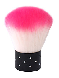 1PCS Pro Make Up Rhinestone Blush Powder Brush Face Makeup Nail Art Cosmetic Tool Pink