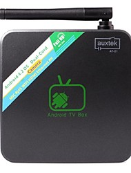 AT-01 Android  4.2.2 1GB DDR3 8GB Built-in Capacity A20 1.5GHZ with 2M Pixel Camera and Microphone TV Box