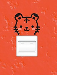 Animals Tiger trocar adesivos de parede Adesivos