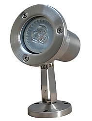 9 * 6 * 14 Vetro Acciaio LED luci esterne luce subacquea