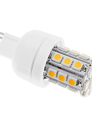 G9 30 SMD 5050 400 LM Warm White LED Corn Lights AC 110-130 V