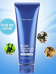 [Tonymoly] DR. TONY AC Acne Control Mousse Nettoyante 150ml (For Trouble, combinaison, peau sensible)