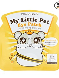 [Tonymoly] My Little Pet Hydro Gel Eye Patch 3g (Rides, blanchissant, hydratant) Pack 5