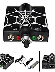 Dragonhawk® Tattoo Power Supply Mini Web Flat Foot Pedal Kit