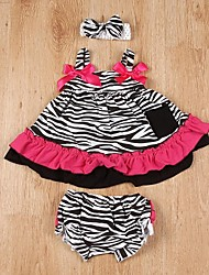 Girl's  Suspender Dress Included Underpants and Hairband