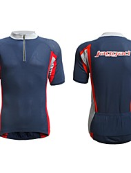 JAGGAD Men's Cycling Tops / Jerseys Short Sleeve Bike Summer Breathable / Quick Dry Blue S / M / L / XL / XXL