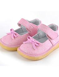 Chaussures bébé - Rose / Rouge / Blanc / Argent - Habillé / Soirée & Evénement - Paillette - Plates