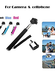 Portable Handheld Self-Portrait Monopod for Camera & Mobilephone