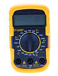 Portable LCD Digital Ohm VOLT Meter AC DC Voltmeter Multimeter