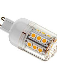 4W G9 LED Mais-Birnen T 30 SMD 5050 400 lm Warmes Weiß Dimmbar AC 220-240 V