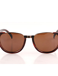 Mujeres MSMK Vintage Rivet Brown Sunglasses
