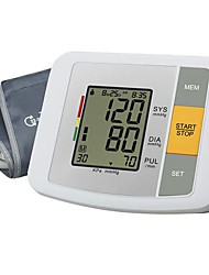 Upper Arm Blood Pressure Monitor (0~299mmHg, ±3mmHg, 4xAA Battery)