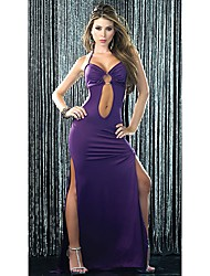 Darling Clothes Women's Sexy PUrple Strap Front Cut Out Qmilch Dress