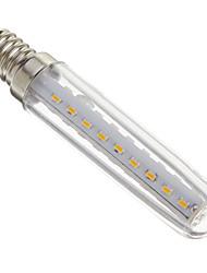 4W E14 Ampoules Maïs LED T 37 SMD 3014 280-320 lm Blanc Chaud Décorative AC 100-240 V