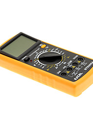 "DT9205A 3 ""-LCD-Digital-Multimeter (Schwarz-orange)"