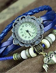 vintage Kreis Uhr