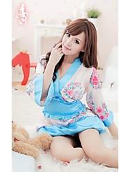 Adorável Ultra Sexy bonito cereja Impressão quimono da mulher