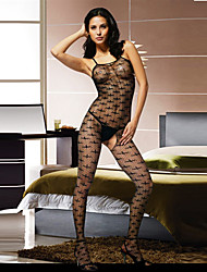 Wild Girl Cross Pattern Women's Body-Stocking Sexy Uniform
