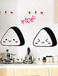 Cartoon Lovely Bread Decorative Stickers